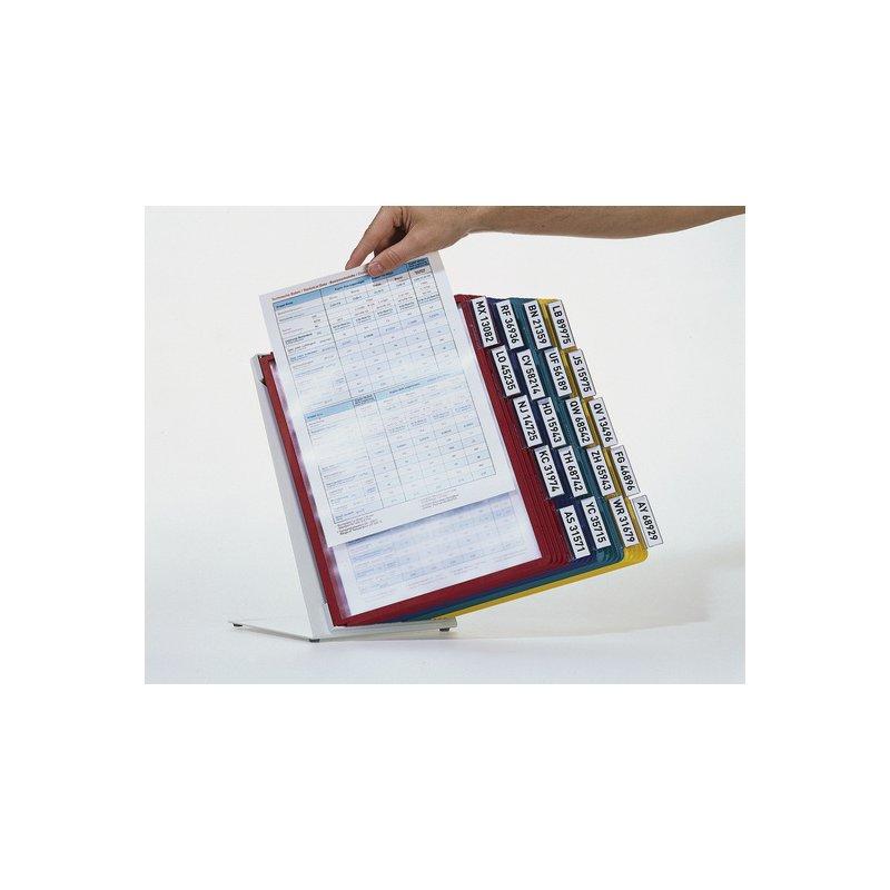 Durable Vario Table 20 Sichttafel System Tischständer 20 Sich